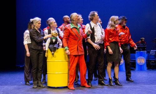 Nederland Alkmaar 12 juni 2016.Unieke Zaken speelt: Alle 25 goed!Foto: Jan Boeve
