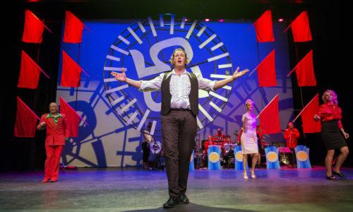 Nederland Alkmaar 12 juni 2016. Unieke Zaken speelt: Alle 25 goed! Foto: Jan Boeve