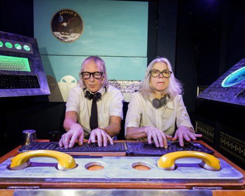 Nederland Hoogwoud 26 oktober 2016. Unieke Zaken. BUZZ IV – Naar De Maan is het vierde reisavontuur in ons vrachtwagentheater.  Foto: Jan Boeve